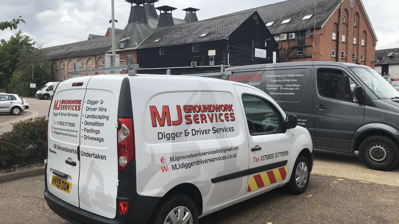 company van in epping