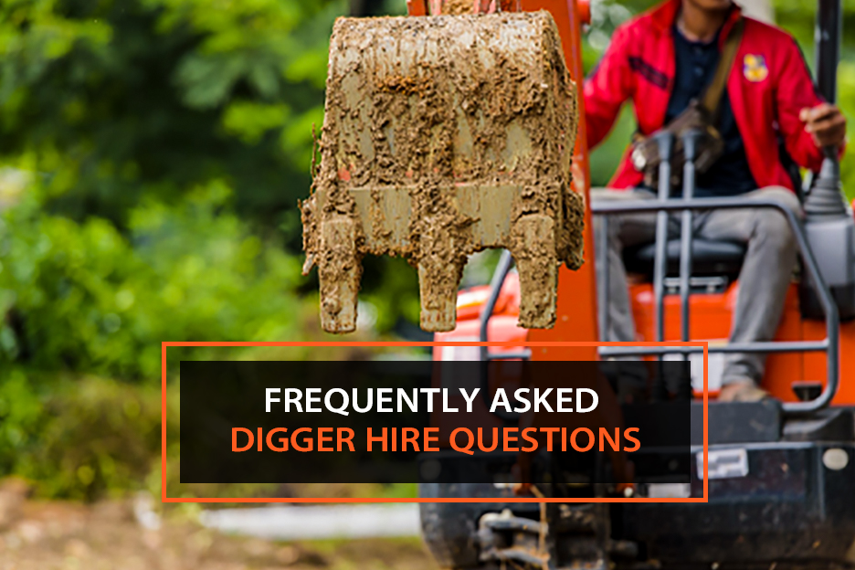 frequently asked digger hire questions