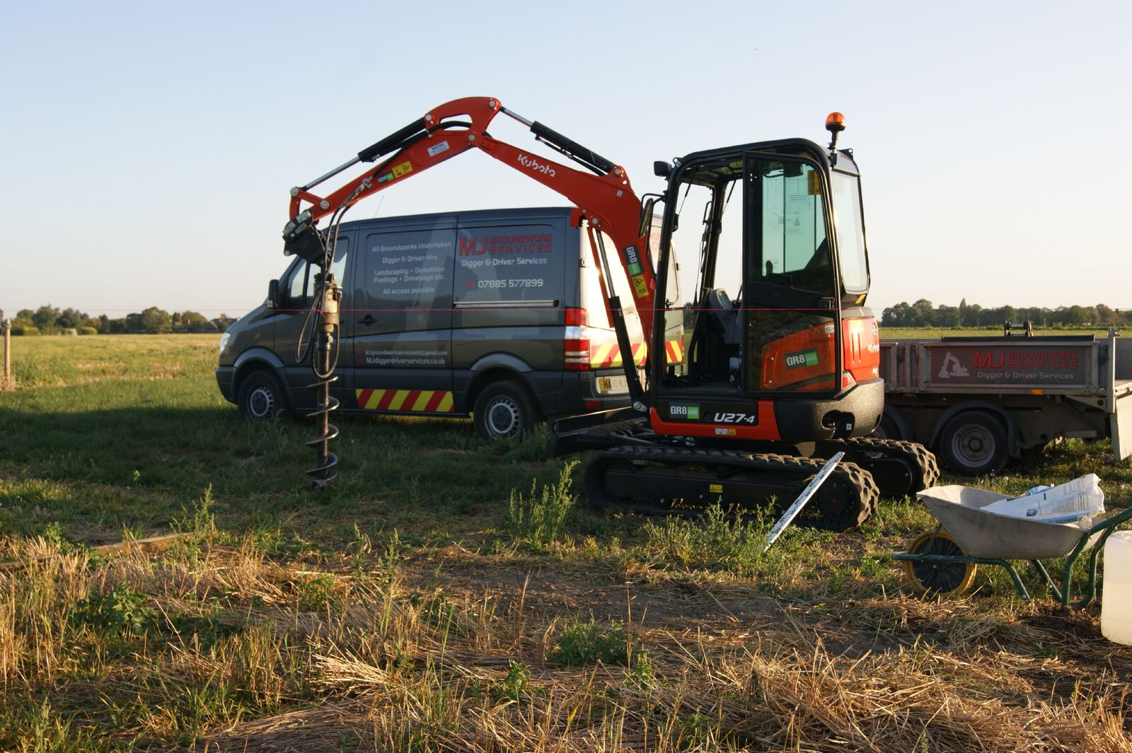 our mini digger vehicles